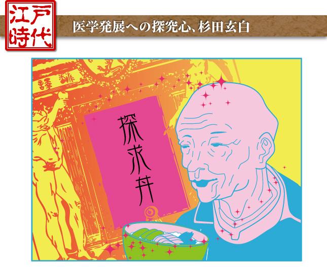 江戸時代―医学発展への探究心、杉田玄白