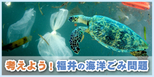 考えよう!福井の海洋ごみ問題